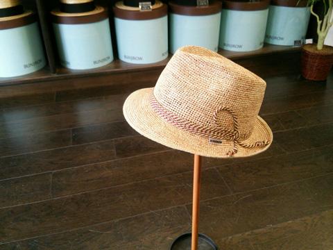 文二郎帽子店ショップブログ パナマ セイロン