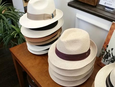 文二郎帽子店 実店舗