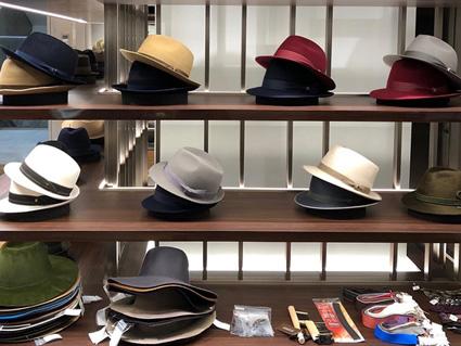 文二郎帽子店オーダー会 日本橋 三越